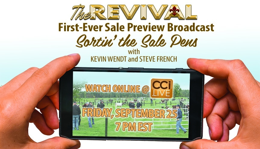 The Revival Sale Preview Broadcast